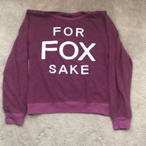 Supersoft WILDFOX sweater size L